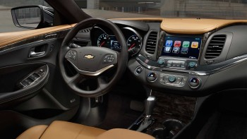 2016 Chevy Impala dashboarc