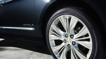 2016 Chevy Impala wheels closeup