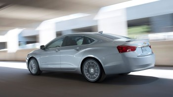 2016 Chevy Impala driving