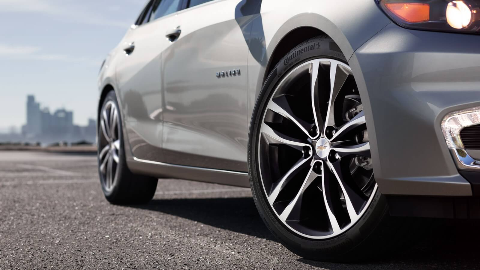 2016 Chevy Malibu wheels