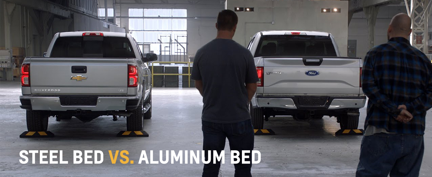 2016 Silverado Steel Bed vs. F-150 Aluminum Bed
