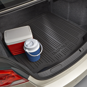 Impala cargo mat in trunk
