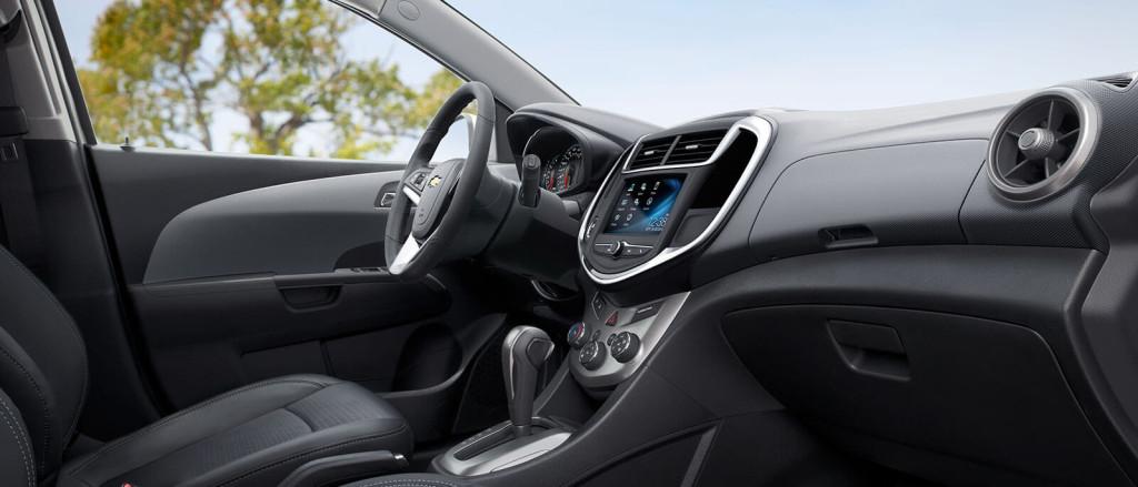 2017 Chevy Sonic Interior