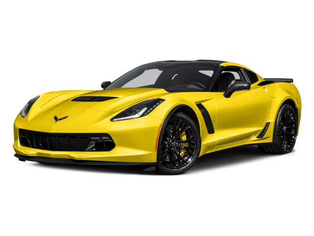 yellow 2017 Chevrolet Corvette Z06 1LZ