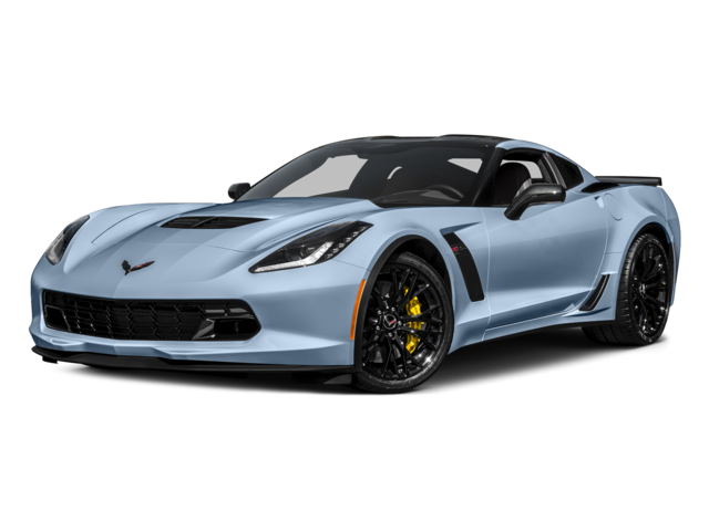 blue 2017 Chevrolet Corvette Z06 1LZ