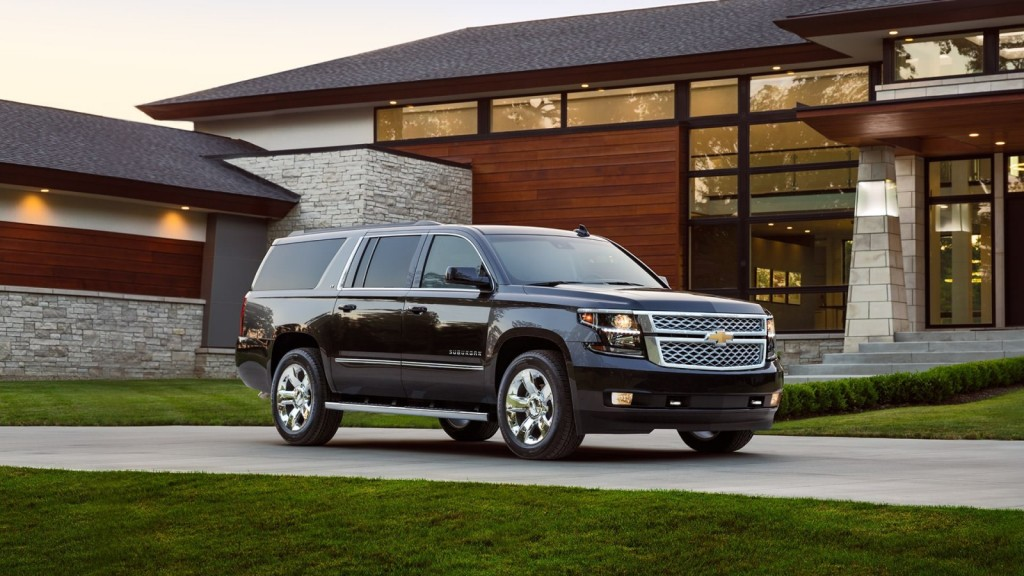 black 2017 Chevrolet Suburban