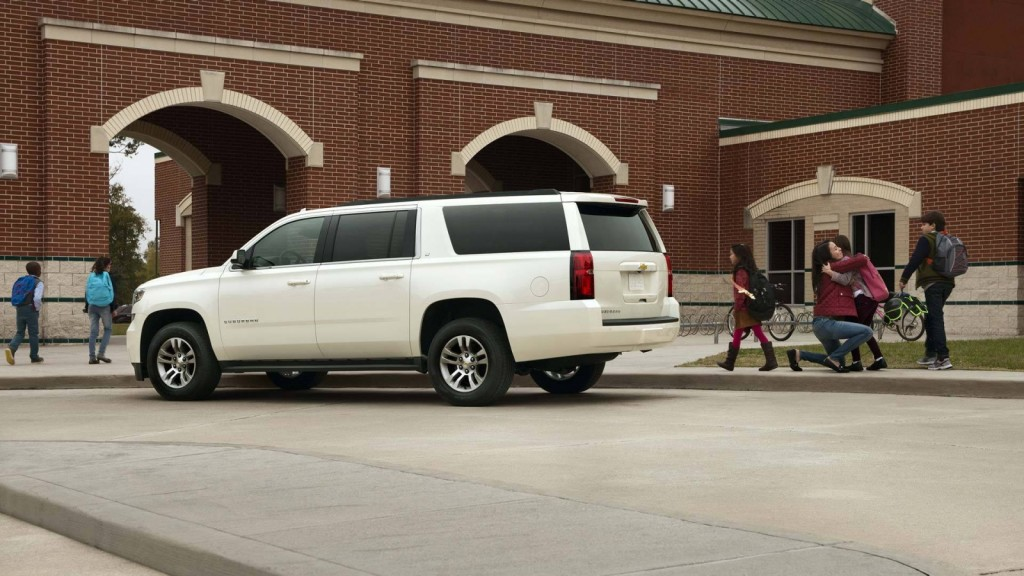 2017 Chevrolet Suburban with family