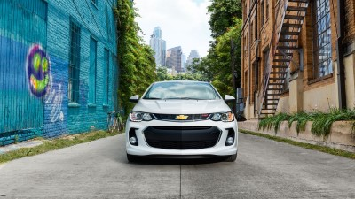 2017 Chevrolet Sonic trims
