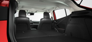 2015 Mazda3 5-door Interior Fold Down Seats