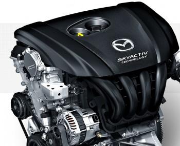 2015 Mazda3 5-door engine cropped