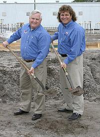 Steve & Gary Cox Mazda Groundbreaking Bradenton, FL - 2006