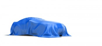 Car Covered With Blanket