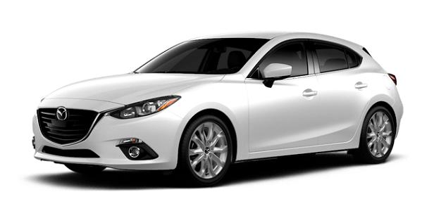 2015 Mazda3 5-door White s Touring