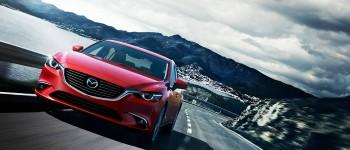 2016 Mazda6 on road