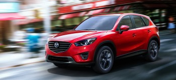 Red Mazda CX-5 Crossover