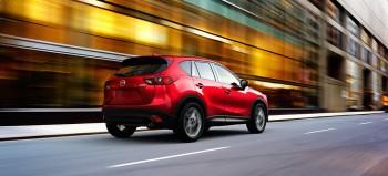 Red Mazda CX-5 at Cox Mazda