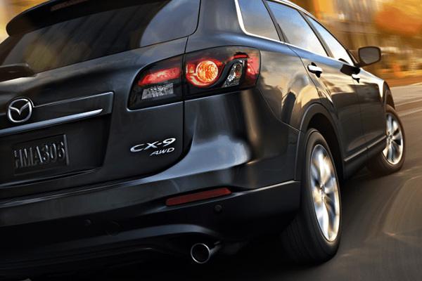 2015 Mazda CX-5 SUV Rear View