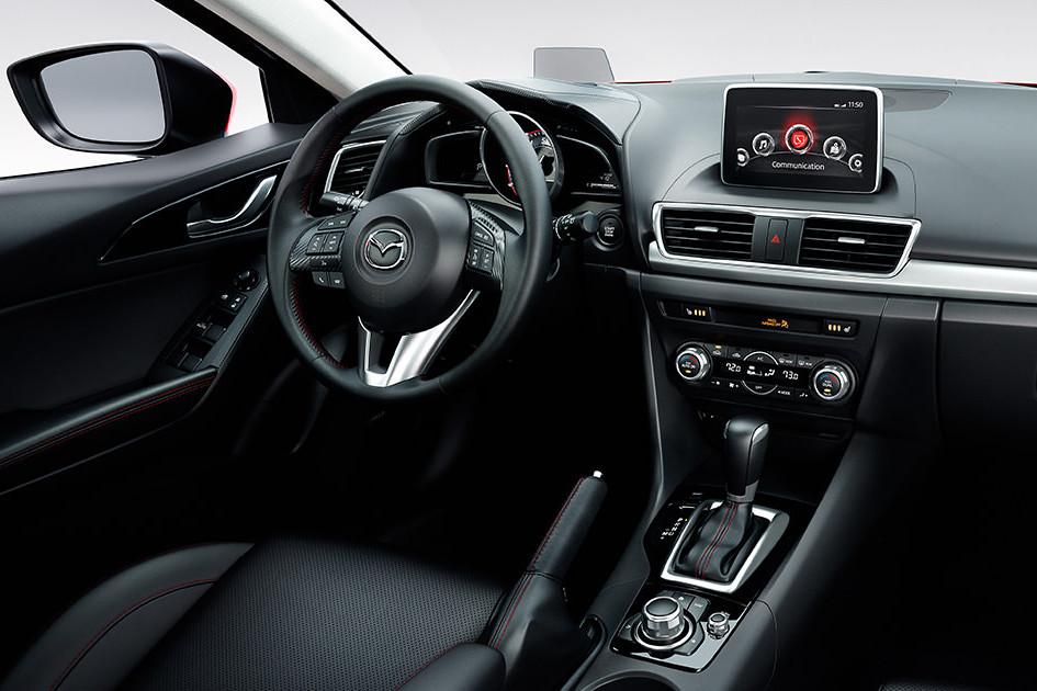 2016 Mazda3 5-dr
