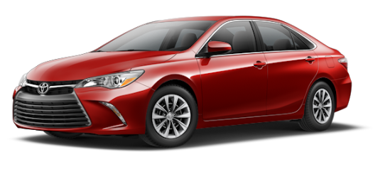 Red 2016 Camry