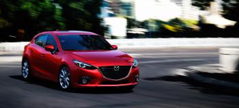 2016 Mazda3 rear view