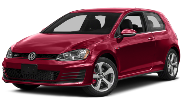 2016 Volkswagen Golf GTI red exterior