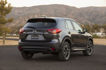 Fuel Economy. 2016 Mazda CX 5 Rear
