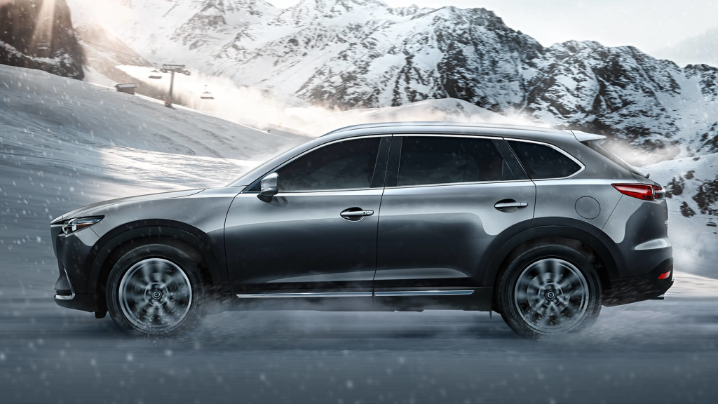 2016 Mazda CX-9 trims
