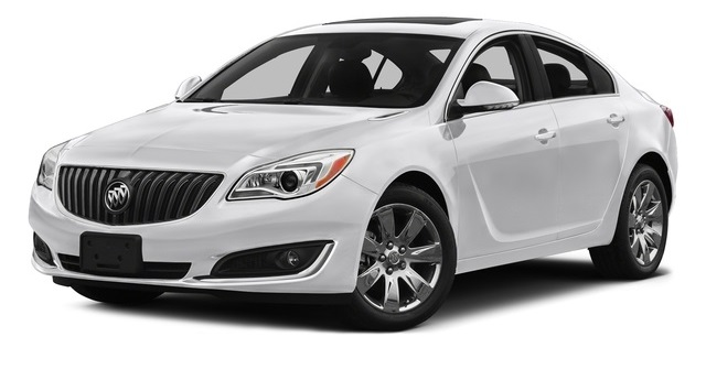 2017 Buick Regal White Front
