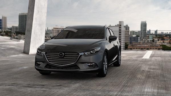 2017 Mazda 3 4 Door Angle Shot