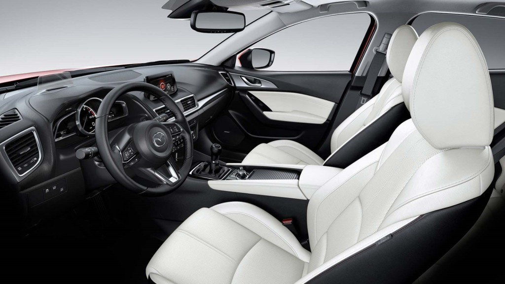 The Luxurious And Comfortable 2017 Mazda 3 4 Door Interior