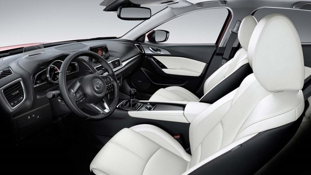 Charming 2017 Mazda3 5 Door Interior
