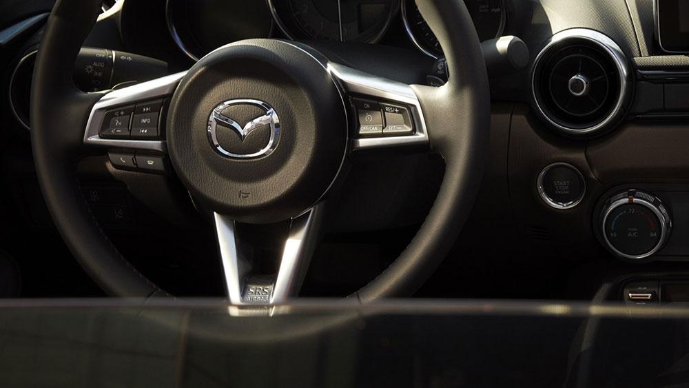 2017 mazda mx-5 miata rf steering wheel