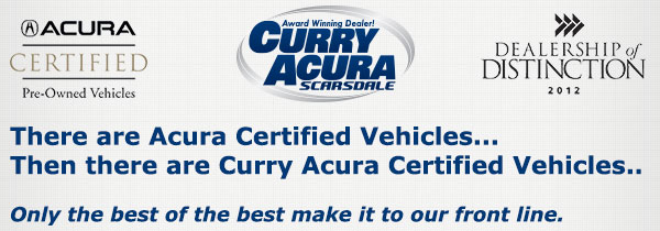 acura certification page