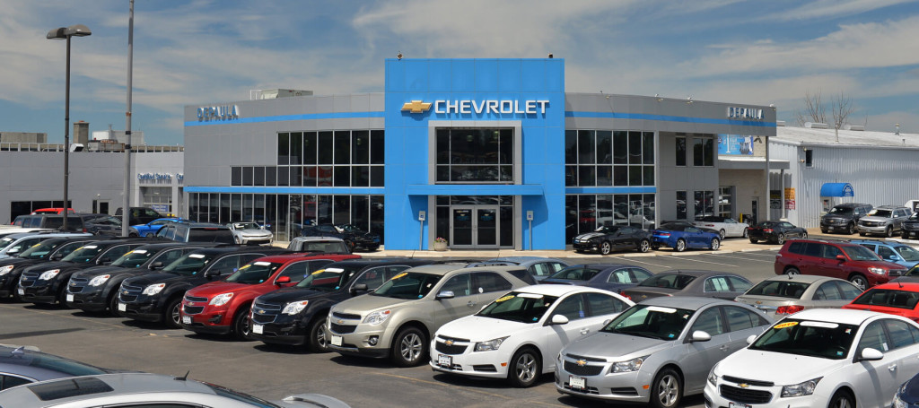 DePaula Chevy Facing Shot and Lot