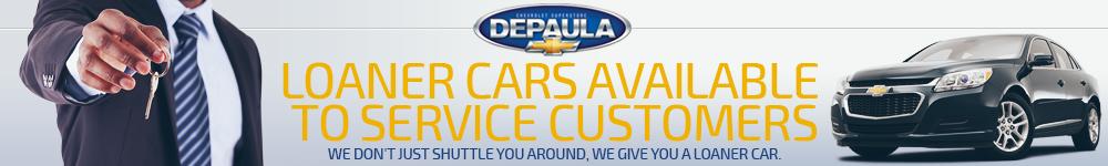 DePaula Loaner Car