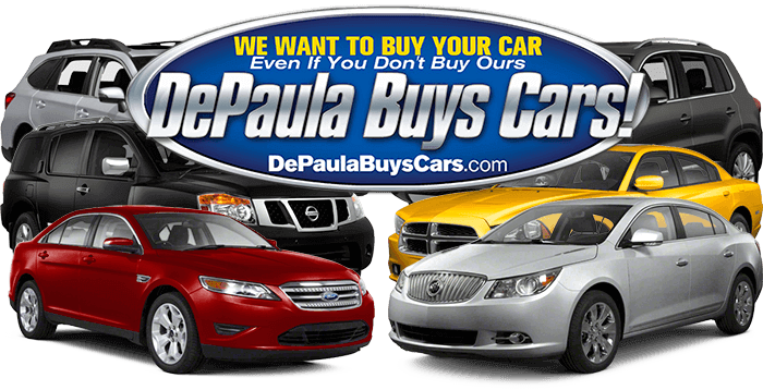 DePaula Chevy wants to buy your car even if you don't buy from us