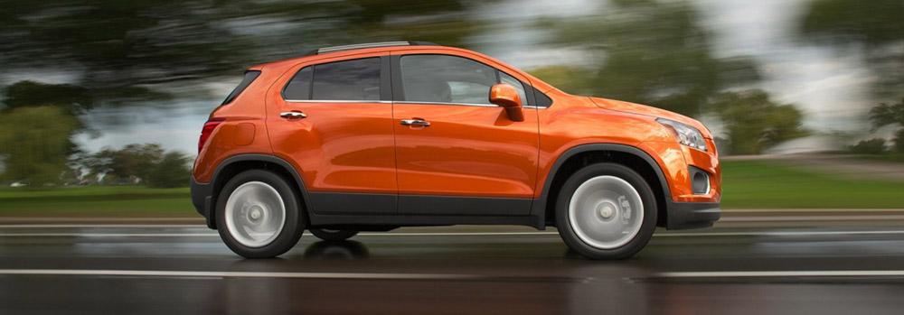 2015 Chevy Trax - Fuel Efficienct Crossover