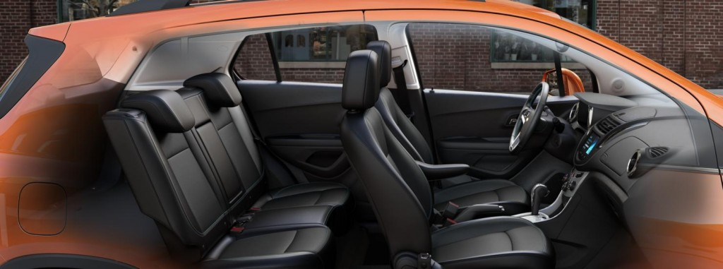 2015 Chevy Trax - Seating and Storage