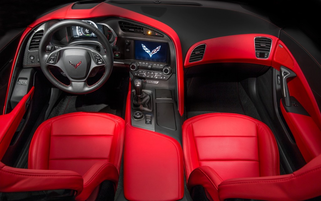 2014-Chevrolet-Corvette-front-interior