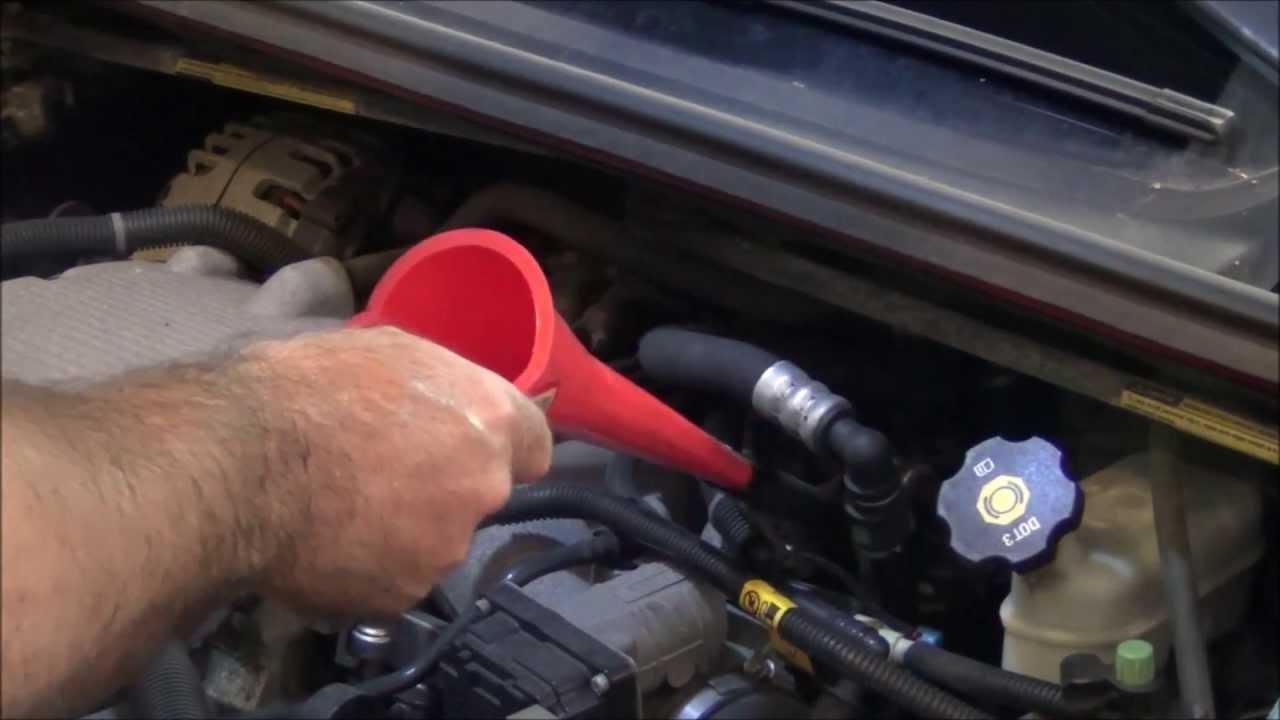 chevy transmission fluid change