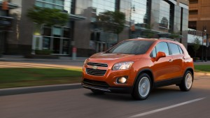 2015 Chevy Trax Exterior