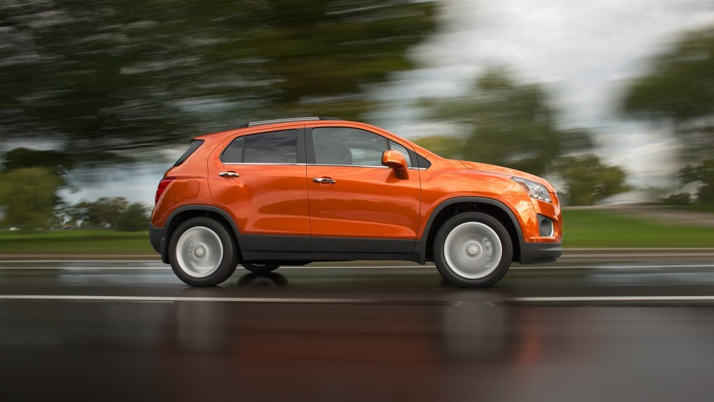 2015 Chevy Trax Highlights
