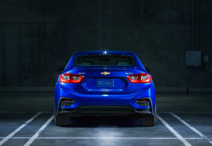 2016 Chevrolet Cruze Available built-in cameras, radar and sensors