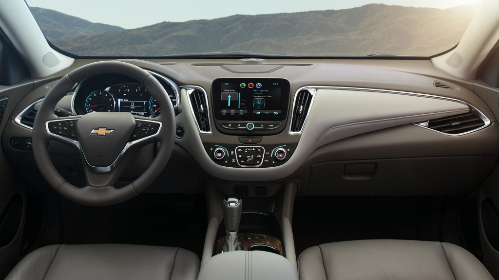 2016 Chevy Malibu Interior Design