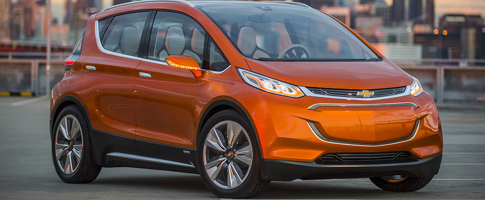 Chevy Bolt vs. Tesla Model 3