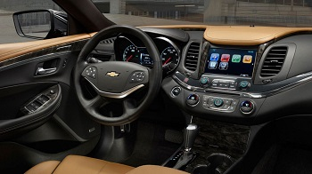 2015 Chevy Impala Interior
