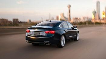 2015 Chevy Impala Performance