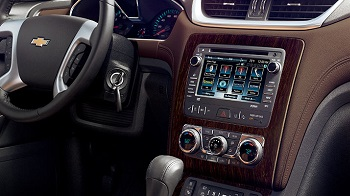 2016 Chevy Traverse Chevrolet MyLink