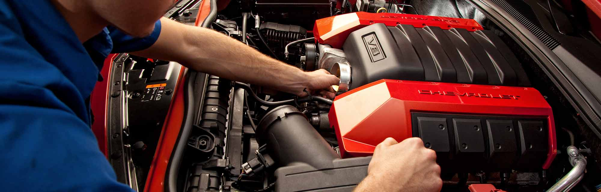 hands on chevy engine