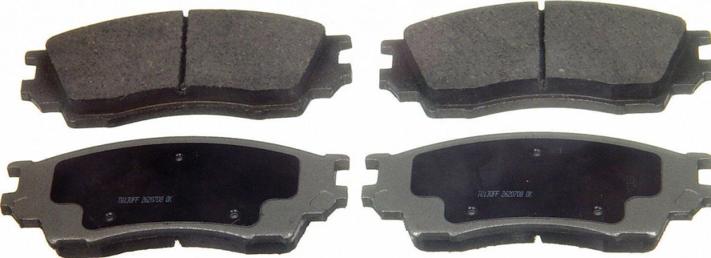 2011 2012 2013 For Chevrolet Cruze Rear Semi Metallic Brake Pads